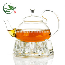 Edelstahl-Tee-Set mit Ständer
