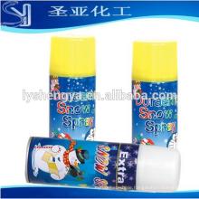 heißer Verkauf 250 ml 50g weiß entflammbare fliegenden schnee schaum spray großverpackung