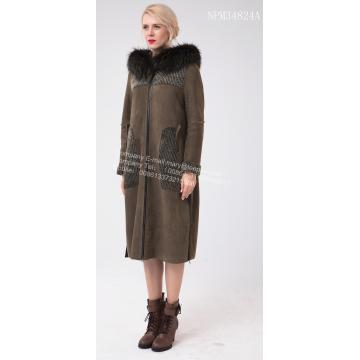 Αυστραλία Merino Shearling Long Big Coat