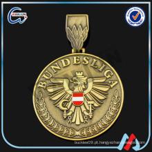 Medalha de ouro tai chi personalizada ouro