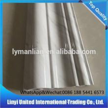Décoration interieur en marbre artificiel pvc bordant les lignes