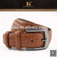 Latest design formal fashion competitive animal skin belts