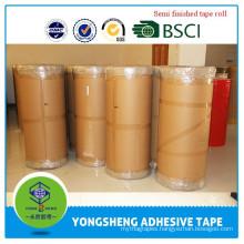 Customized high quality bopp adhesive tape jumbo roll manufacture