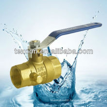 low lead threaded brass ball valves with drain