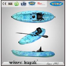 1 + 1 asientos no inflables Sot Kayak recreativo
