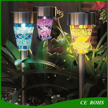 Light Control IP44 Garden Decoration Lawn Light Solar Solar Landscape Light Lawn Lamp Set with Spike