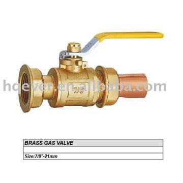"""Válvula de gas latón CE 7/8 """""""