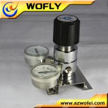 high pressure oxygen nitrogen air gas pressure regulator