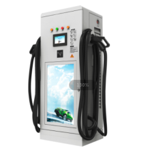 142KW led display electric car charging stations