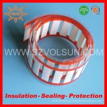 Marcadores de cabo de plástico resistente ao calor de alta temperatura
