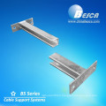 Galvanized Mounting Wall Bracket of Slotted Angle 40x40 for Cable Support