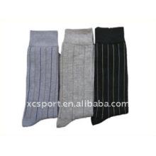 Calcetines tejidos de algodón de nylon