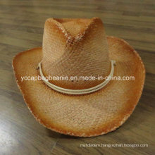 Fashion Paper Straw Cowboy Hat