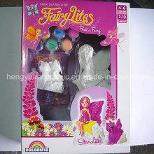 Gypsum Crafts Produits bricolage Fées artisanales, jouets pour enfants, décoration pour la maison