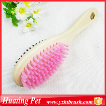 China for China Pet Brushes,Pet Slicker Brush,Pet Deshedding Brush Manufacturer two sided pet hair brush export to Thailand Supplier