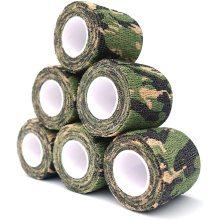 Elastische latexfreie Kreppbinden aus Baumwolle mit hoher Baumwolle