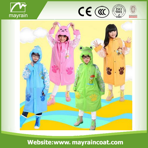 Pvc Children Rainsuit