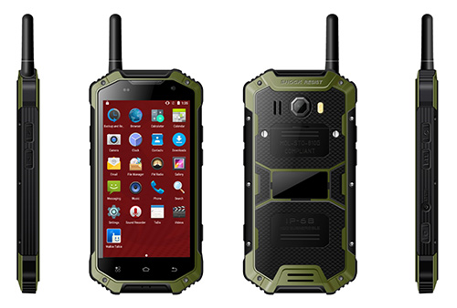 IP68 Robustes Android-Smartphone