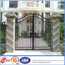 Puertas de hierro forjado galvanizado en caliente