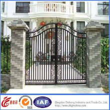 Hot Galvanized Wrought Iron Gates