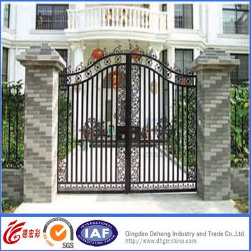 Hot Galvanized Wrought Iron Gates