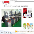 New Paper Card and Plastic Blister Packaging Machinery