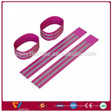 wholesale outdoor jogging / running safety reflective slap band