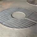Silver Galvanized Steel Bar Grating Floor/ Platform