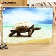 sublimation glass photo frame BL-13 390*290*10