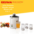 Geuwa Juice Ectractor in Blender Mincer Mill 4 in 1