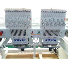 embroidery machine for baseball cap 2 /double heads computerized embroidery machine practical price