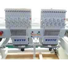 вышивальная машина для бейсболка 2 /двойные головки компьютеризировали машину вышивки практических цене