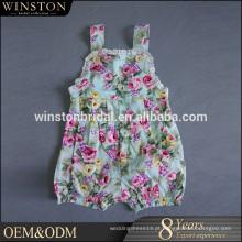 2016 New Fashion Real Photo roupas infantis algodão orgânico