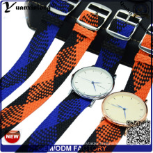 Yxl-031 New Style Perlon Strap Band Promotional Good Quality Watch Strap Wrist Watch Perlon Strap Custom Design Wholesale Watch Wristband