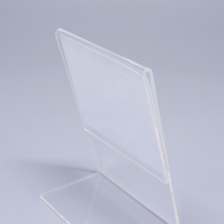 A 3r0039 Lucite Sign Holder