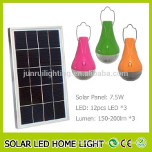 Low price led portable solar light for home and indoor use