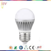 Ampoule 4W / 6W / 8W d'usine en aluminium de moulage en matrice de G45 LED avec la lumière en gros de jour