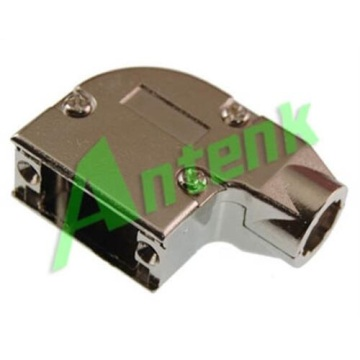 D-SUB Capuzes de Metal 09P Right Angle Ethernet Type