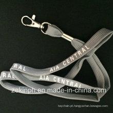 Cordão tubular com logotipo impresso personalizado para presentes da promoção