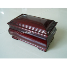 solid mahogany wooden cremation urn funeral supplies wholesales