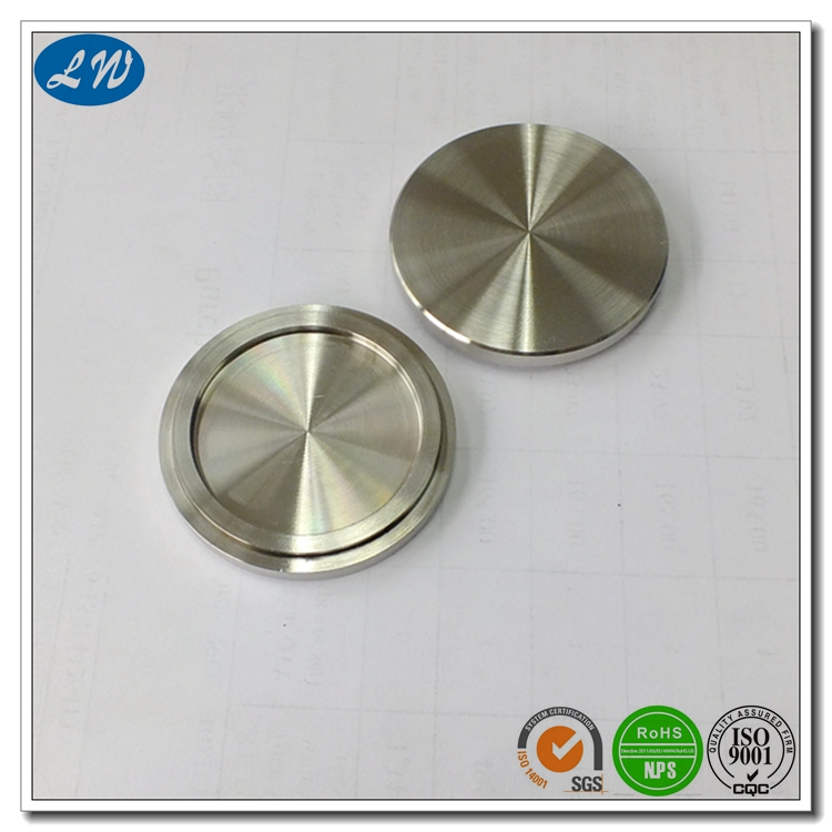 Anodized Aluminum Button
