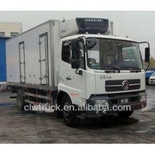 Camión de transporte de refrigeración Dongfeng 8-10 toneladas de camión de transporte refrigerado