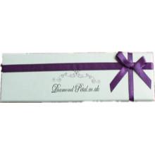 Impresión personalizada de lujo de la caja de joyería de la caja de cartón