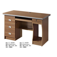 Low price modern wooden computer desk with drawer