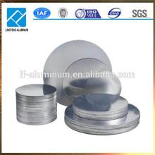 Círculo de aluminio 1070/1060/1050 de la venta caliente para girar, presionar, drenaje profundo
