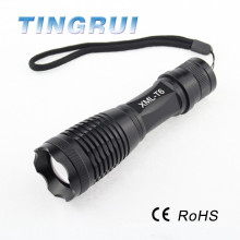 Newly Design Super Bright Zoom Torch Led Flashlight alibaba china
