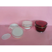 Tambour de forme pot de crème cosmétique J037A J037D