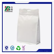 8 Side -Sealed Stand up Bag avec fermeture éclair rétractable
