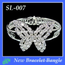Wholesale New fashion Butterfly type mini bangles,rhinestone bracelet