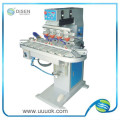 Máquina de impresión de alto rendimiento venta caliente 4 color cojín rotatorio
